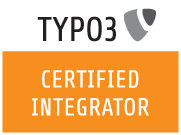 TYPO3 zertifiziert